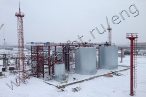 methanol production facility