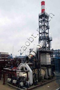 Incinerator I-1 for Omsk Refinery