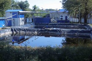 MSW landfill leachate purification plant
