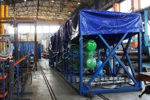 Slate sludge pyrolysis equipment