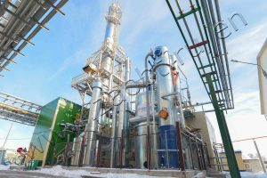 Synthetic resins plant Rechitsadrev, launched in 2017