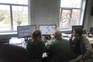 Automatic process control system. AB ACHEMA
