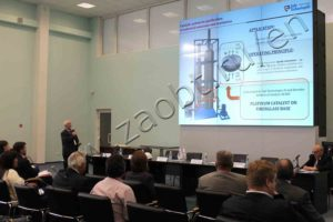 Presentation of catalytic gas purification to the international community