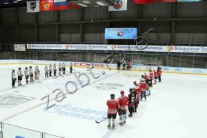 The charity hockey match for orphans supported by ST IG