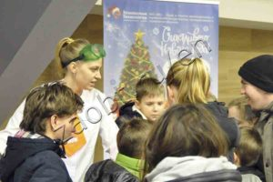 The charity New Year's holiday for orphans supported by ST IG