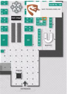 VUZPROMEXPO-2017 Floor Plan