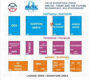 Flor Plan. Arctic: Today and the Future