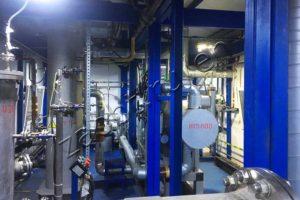 Contaminated Gas Processing Column Equipment
