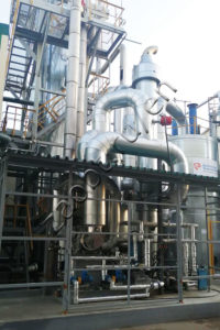 Unit for formaldehyde plant capacity increase