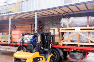 Shipment of equipment for Bashneft UNPZ