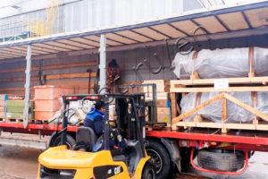 Shipmnt of equipment for UNPZ Bashneft