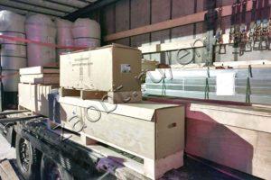 Shipment of SOS-160 leachate treatment system