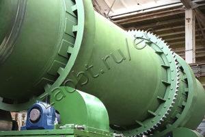 Rotaty furnace of КТО-200.О.В incinerator