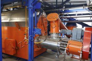 Industrial waste utilization in TDP-2