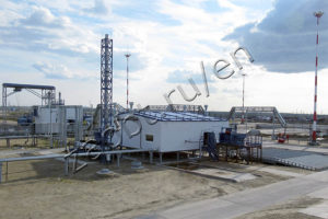 Complex for oily waste processing based on TDP-2