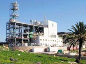 Рис. 1. Общий вид технологического комплекса по переработке ТБО в Израиле