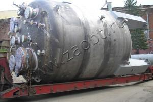 Реактор по производству формальдегидных смол