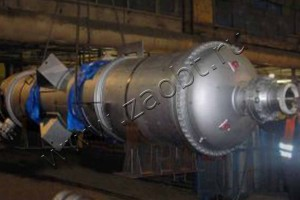 Теплообменник для цеха по производству карбамида