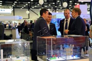"""Выставочный стенд ПГ """"Безопасные Технологии"""" на Газовом Форуме"""