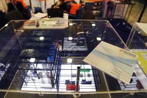 Макеты оборудования на выставочном стенде в Экспофоруме