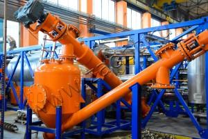 Установка непрерывного пиролиза УТД-2-800
