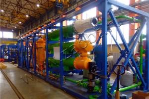 Переработка отходов коксохимии на УТД-2-800