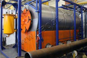 Пиролизная печь УТД-1-1000 для ООО «РН-Уватнефтегаз»