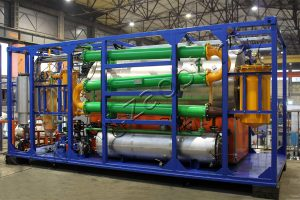 Установка для утилизации шин БелАЗ