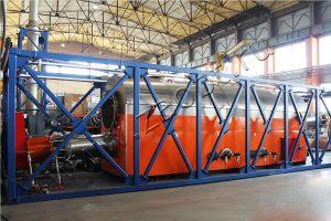 Установка переработки сланцевых фусов УТД-2-2000