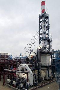 Инсинератор И-1 для Омского нефтеперерабатывающего завода