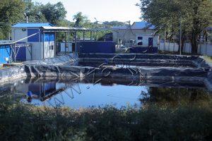 Станция очистки стоков для полигона ТКО