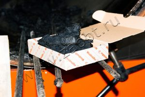 Осушенные активные илы - продукт переработки УТД