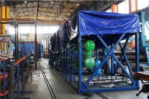 Отгрузка УТД-2-2000 с промышленной площадки ЗАО «БТ»