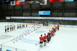 Благотворительный хоккейный матч для детей-сирот при поддержке ПГ «БТ»
