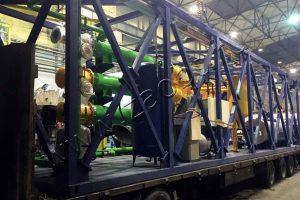 Пиролизная печь УТД-2-200 для ПАО «Газпром нефть»