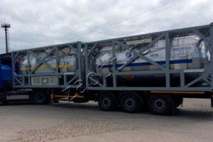 Транспортно-заправочный контейнер СТЗК