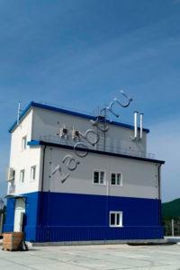 Станция очистки свалочного фильтрата