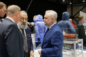 Почетные гости экспозиции Санкт-Петербурга
