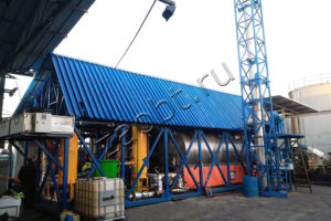 Установка непрерывного пиролиза УТД-2-200М