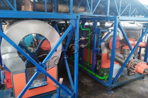 Установка утилизации шламовых резервуаров