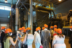 Делегация из Германии посетила завод по уничтожению отходов на базе КТО-500