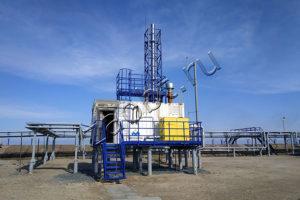 Печь утилизации жидких отходов, КТО-50.К20.Ц