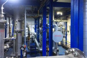 Колонные аппараты для обработки загрязненного газа