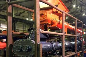 Модернизированная система загрузки отходов для УТД-2-800