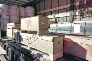 Отгрузка системы очистки стоков с производственной площадки