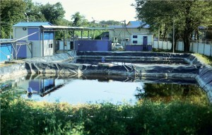 Landfill leachate and industrial effluents purification