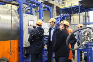 The delegation of the Ministry of Industry and Trade of Russia (Minpromtorg) visited the production site of Safe Technologies