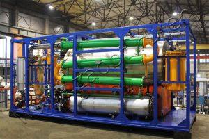 CAT type tire processing plant