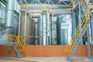 Rechitsadrev synthetic resin production site