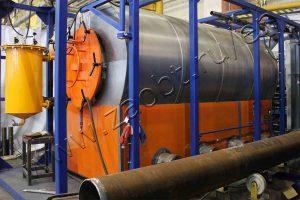 Pyrolysis plant TDP-1-1000 for RN-Uvatneftegaz